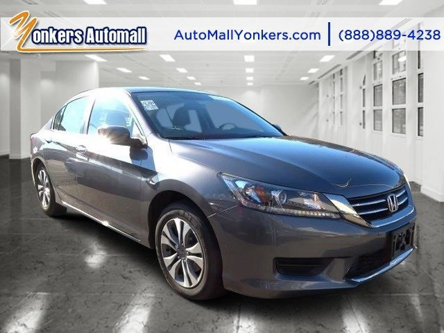 2013 Honda Accord Sdn LX Modern Steel MetallicGray V4 24L Automatic 34811 miles Sophisticated
