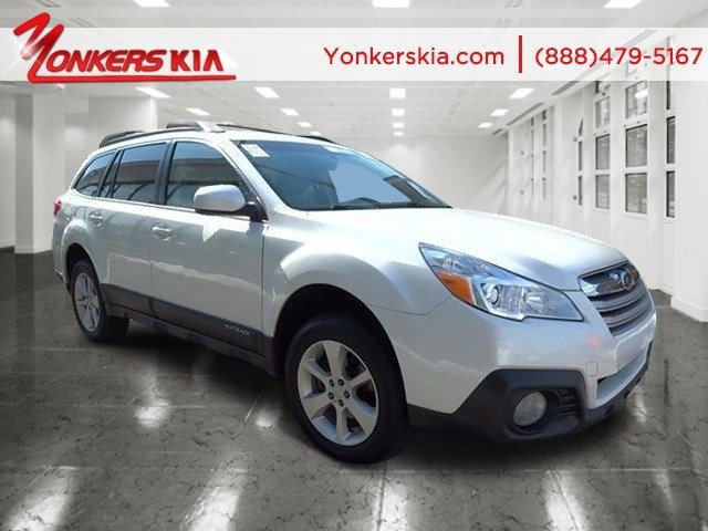 2014 Subaru Outback 25i Premium Satin White PearlIvory V4 25 L Variable 45219 miles 1 owner