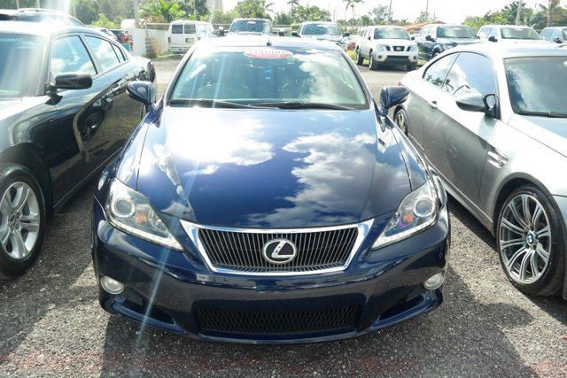 2011 Lexus IS 350C Deep Sea MicaLight Gray V6 35L Automatic 81911 miles GUARANTEED FINANCING