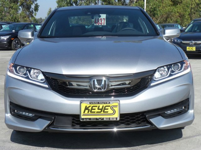 2017 Honda Accord Coupe EX Lunar Silver MetallicBLK CLOTH V4 24 L Variable 11 miles  ENGINE-2