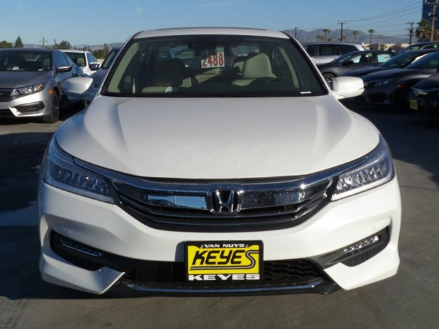 2017 Honda Accord Sedan Touring White Orchid PearlIVORY CLOTH V6 35 L Automatic 11 miles  ENG