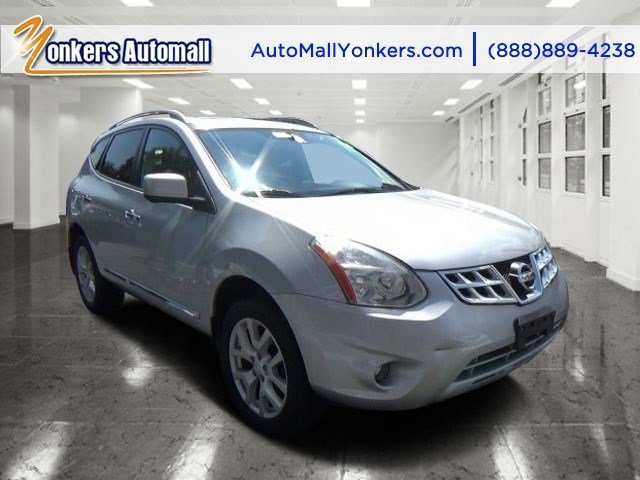 2012 Nissan Rogue SL Brilliant SilverBlack V4 25L Variable 45365 miles 1 owner clean Carfax