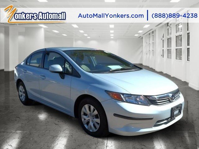2012 Honda Civic Sdn LX Dyno Blue PearlGray V4 18L Automatic 37116 miles Sophisticated smart