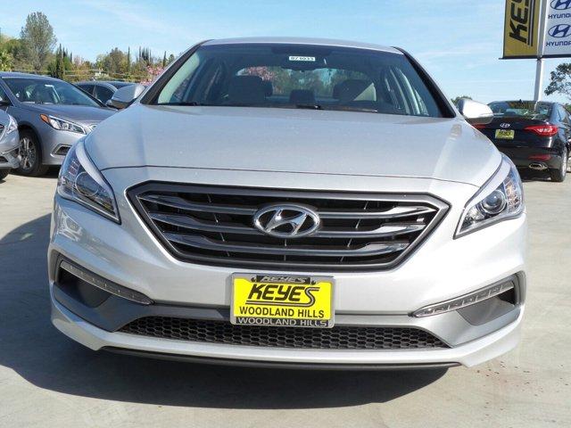2017 Hyundai Sonata Sport SilverGray V4 24 L Automatic 10 miles Woodland Hills Hyundai come