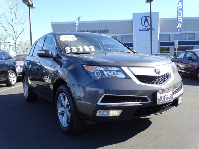 2012 Acura MDX Technology Package GrayEbony V6 37L Automatic 21911 miles 182 POINT ACURA CER