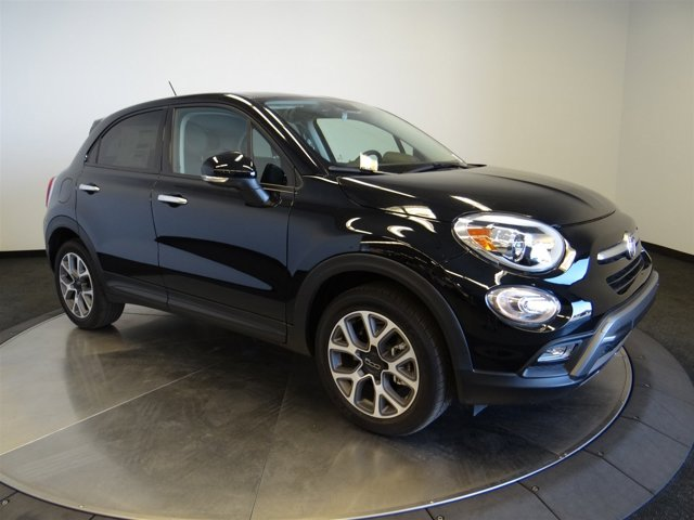 2016 FIAT 500X Trekking Nero Cinema Black Clear CoatBlack V4 24 L Automatic 108 miles  PX8