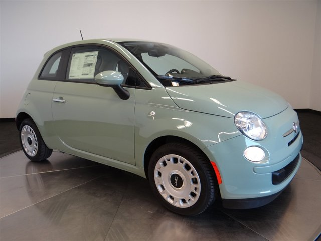2016 FIAT 500 Pop Verde Chiaro Light GreenA7X9 V4 14 L Manual 12 miles  21A EAB DDF PGA APA