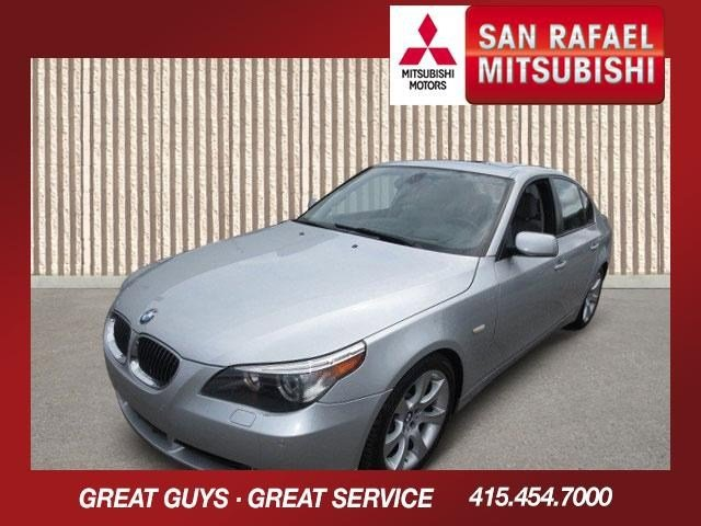 2006 BMW 5 Series 550i Titanium Silver MetallicGray V8 48L Automatic 64066 miles LOW MILES Th