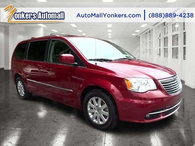 2014 Chrysler Town  Country Touring Deep Cherry Red Crystal PearlcoatBlackLight Graystone V6 3