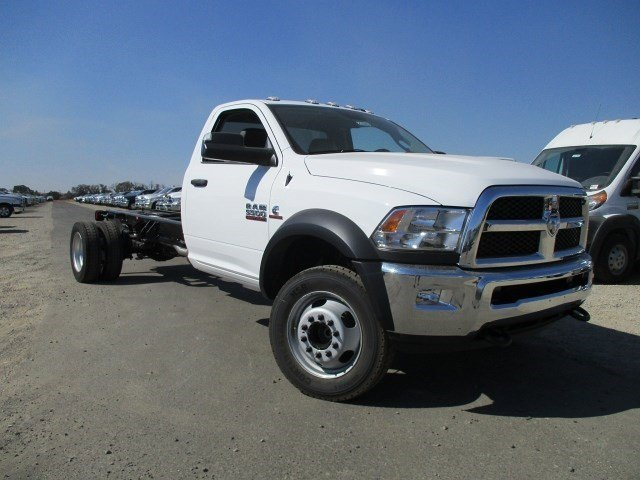 2017 Ram 5500 Chassis Cab V Bright White ClearcoatDiesel GrayBlack V6 67 L Automatic 7 miles