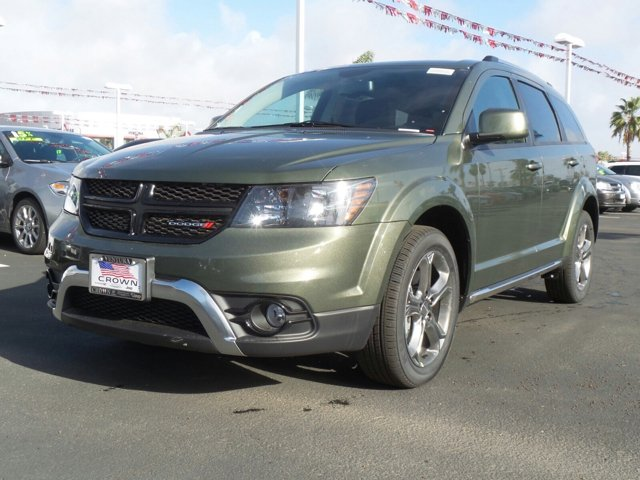 2017 Dodge Journey Crossroad Plus Verde Oliva Olive GreenBlack V4 24 L Automatic 0 miles  B