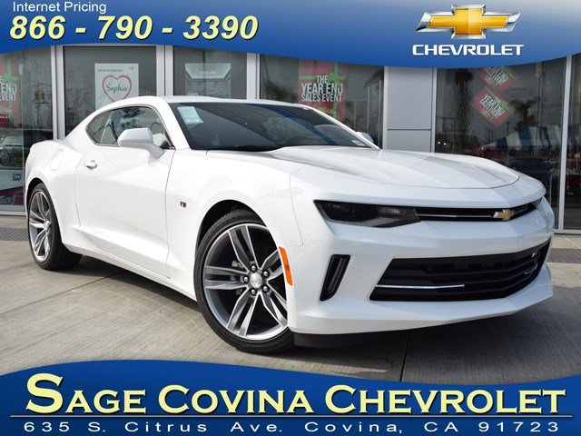 2017 Chevrolet Camaro LT Summit WhiteJet Black V6 36L Automatic 5 miles The 2017 Camaro is a