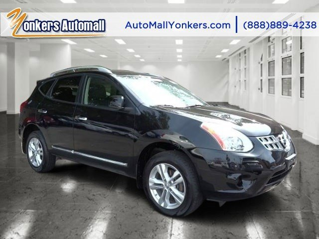 2012 Nissan Rogue SV Super BlackGray V4 25L Variable 38615 miles Bluetooth satellite radio A