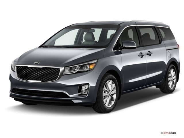 2016 Kia Sedona EX Red V6 33 L Automatic 10 miles Front Wheel Drive Power Steering ABS 4-W