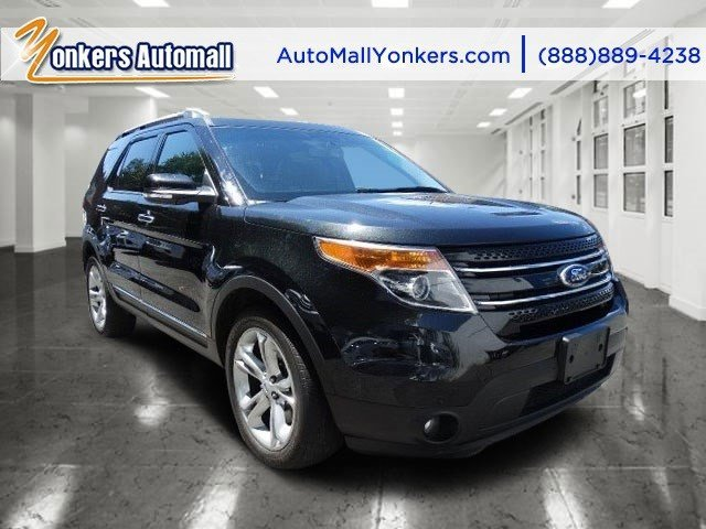 2014 Ford Explorer Limited Tuxedo Black MetallicCharcoal Black V6 35 L Automatic 40673 miles