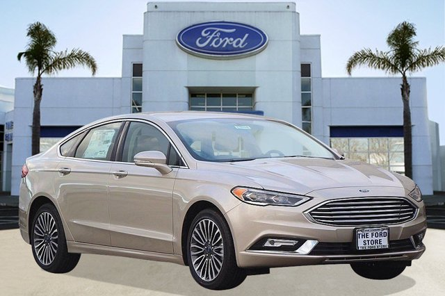 2017 Ford Fusion SE White GoldMedium Light Stone V4 20 L Automatic 4 miles Welcome to San Lea