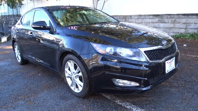 2012 Kia Optima EX Ebony BlackBeige V4 24L Automatic 22393 miles 1 owner clean carfax EX