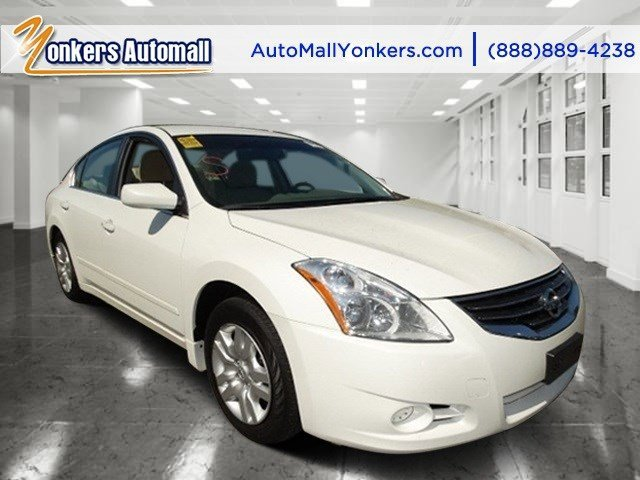 2012 Nissan Altima 25 S Winter Frost PearlBlonde V4 25L Automatic 40635 miles Yonkers Auto M
