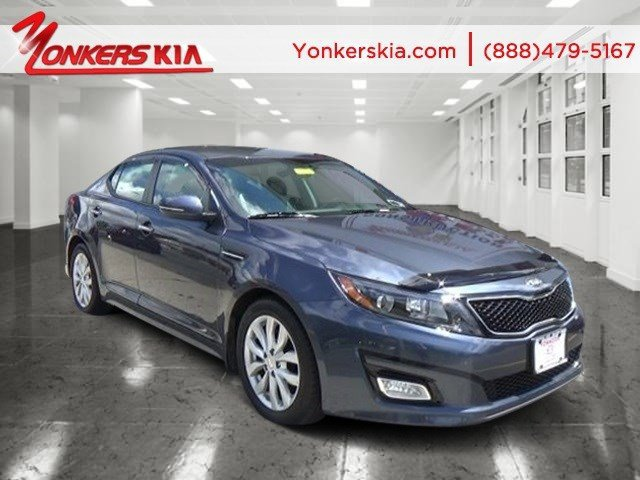 2015 Kia Optima EX Smokey BlueBeige V4 24 L Automatic 21276 miles 1 owner clean carfax Thi