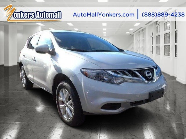 2013 Nissan Murano LE Brilliant SilverBeige V6 35L Variable 52494 miles Racy yet refined thi