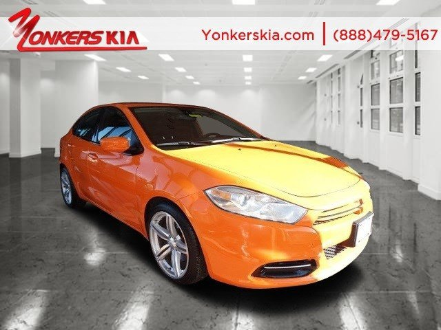 2013 Dodge Dart Rallye Header OrangeDiesel Gray V4 20L Automatic 23789 miles Fully loaded wit