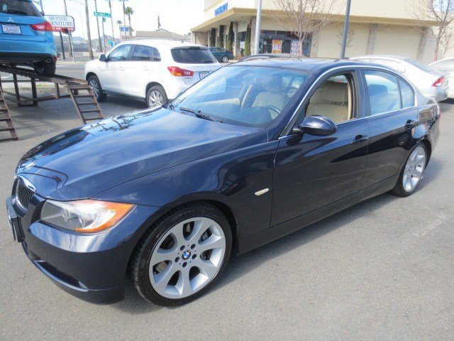 2007 BMW 3 Series 335i Montego Blue MetallicBeige V6 30L Automatic 97313 miles Local Trade Th