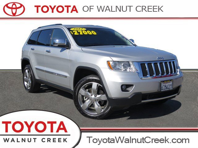 2012 Jeep Grand Cherokee Limited Bright Silver Metallic V8 57L Automatic 83965 miles 4WD Cal
