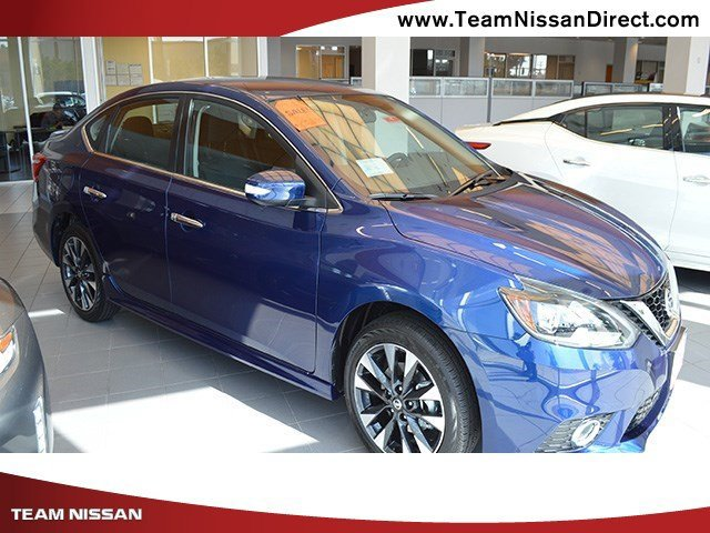 2017 Nissan Sentra SR Turbo Deep BlueCharcoal V4 16 L Manual 0 miles  Turbocharged  Front Wh