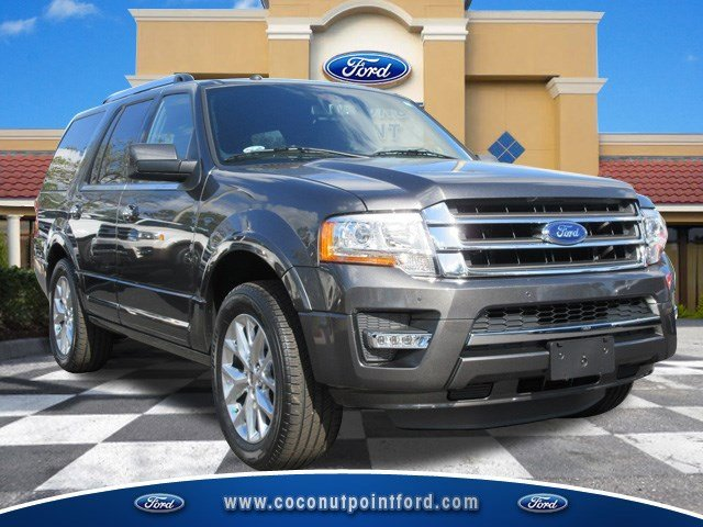 2017 Ford Expedition Limited MagneticEbony V6 35 L Automatic 7 miles Located in Estero Florid