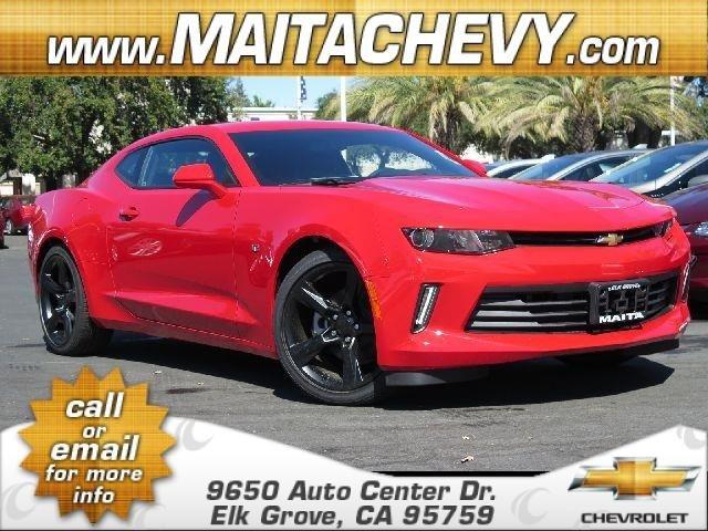 2017 Chevrolet Camaro LT Red HotBlack V6 36L Manual 5 miles  CF5 IO6 LGX MN6 M13 RTH SFE VAV
