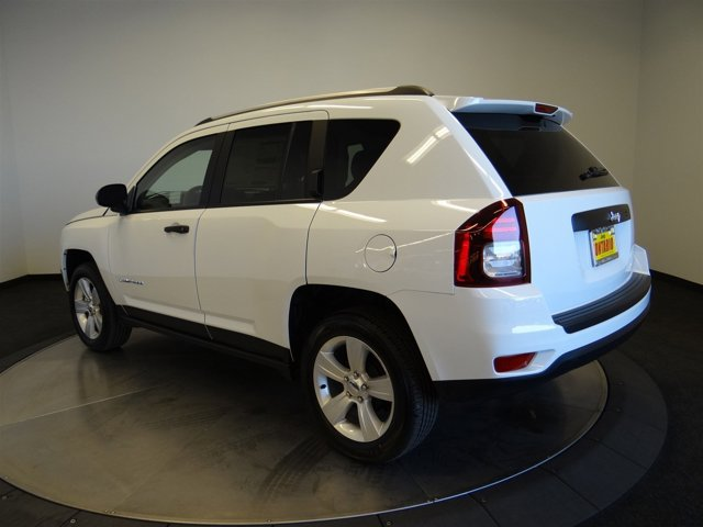 2017 Jeep Compass Sport PW7 BRIGHT WHITE CLEAR COATC7DV V4 20 L DAV CONTINUOUSLY VARIABLE TRANS