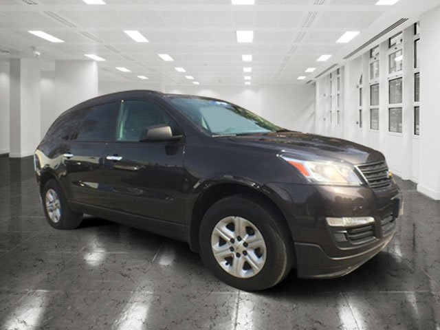 2014 Chevrolet Traverse LS Tungsten MetallicSilver V6 36L Automatic 44536 miles Elegantly exp