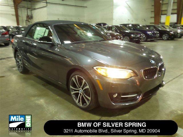 2015 BMW 2 Series 228i xDrive Mineral Gray MetallicCoral RedBlack V4 20 L Automatic 21 miles