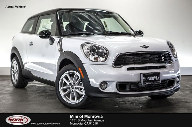 2016 MINI Cooper Paceman S  V4 16 L Automatic 0 miles  Turbocharged  Front Wheel Drive  Pow