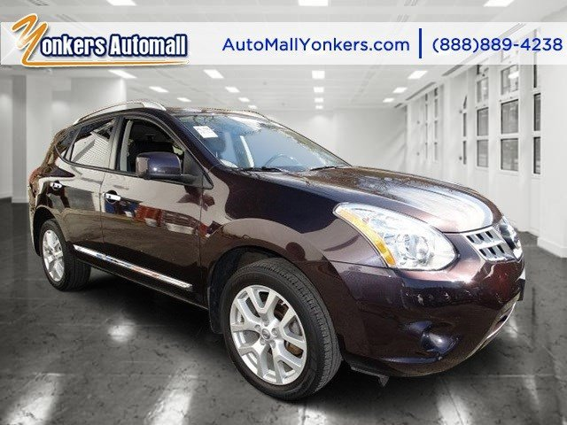 2012 Nissan Rogue SV Black AmethystGray V4 25L Automatic 0 miles  All Wheel Drive  Tow Hooks