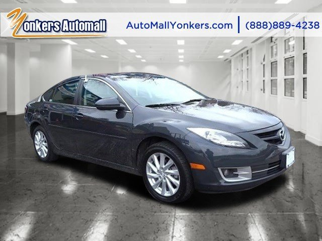 2012 Mazda Mazda6 i Touring Steel Blue MicaBlack V4 25L Automatic 39860 miles  BLACK CLOTH SE