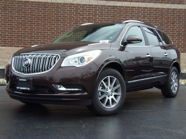 2017 Buick Enclave Leather Dark Chocolate Metallic V6 36L Automatic 10 miles Buick began its