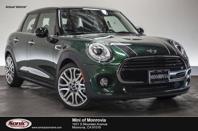 2016 MINI Cooper Hardtop 4 Door 4dr HB British Racing Green MetallicBlack Pearl V3 15 L Automat
