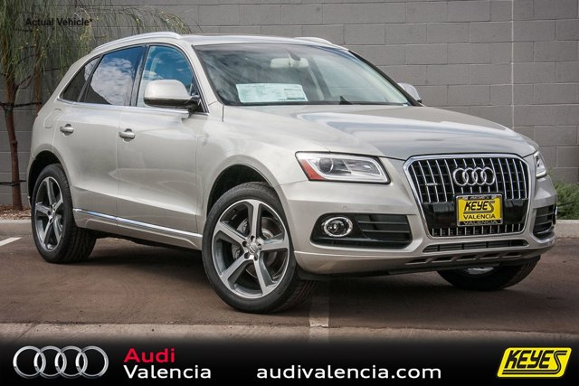2016 Audi Q5 Premium Plus Cuvee Silver MetallicPISTACHIO BGE LEATHER V6 30 L Automatic 11 mile