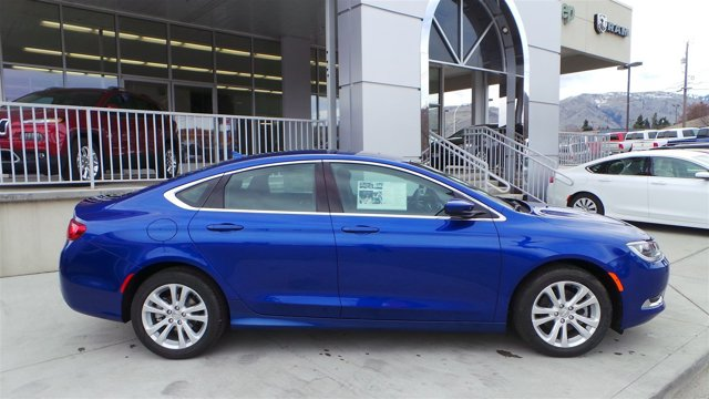 2016 Chrysler 200 Limited Vivid Blue PearlcoatBlack V4 24 L Automatic 8 miles  ANNIVERSARY ED