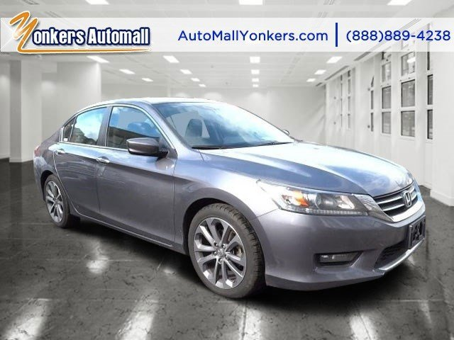 2014 Honda Accord Sedan Sport Modern Steel MetallicBlack V4 24 L Variable 47530 miles  BLACK