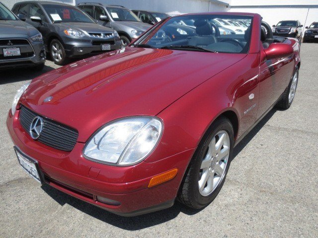 2000 Mercedes SLK-Class SLK230 Kompressor Roadster Firemist RedCharcoal V4 23L Automatic 50290 