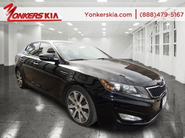 2012 Kia Optima SX Ebony BlackBlack V4 20L Automatic 27426 miles 1 owner clean carfax Prem