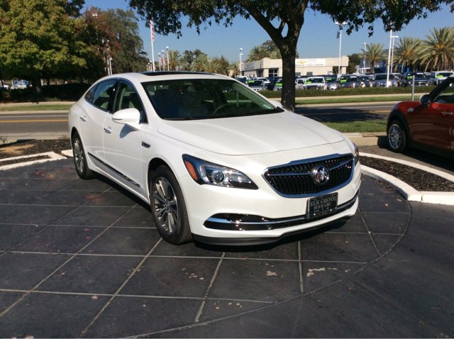 2017 Buick LaCrosse Essence White Frost TricoatLight Neutral V6 36L Automatic 0 miles  RO  9