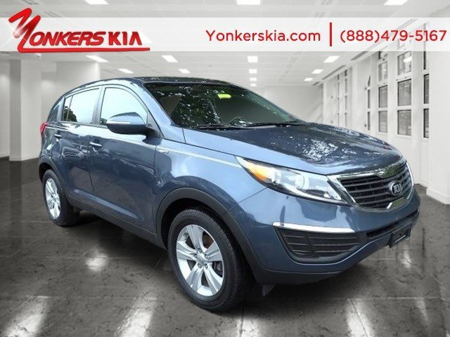 2013 Kia Sportage LX Twilight BlueAlpine Gray V4 24L Automatic 38118 miles 1 owner clean car