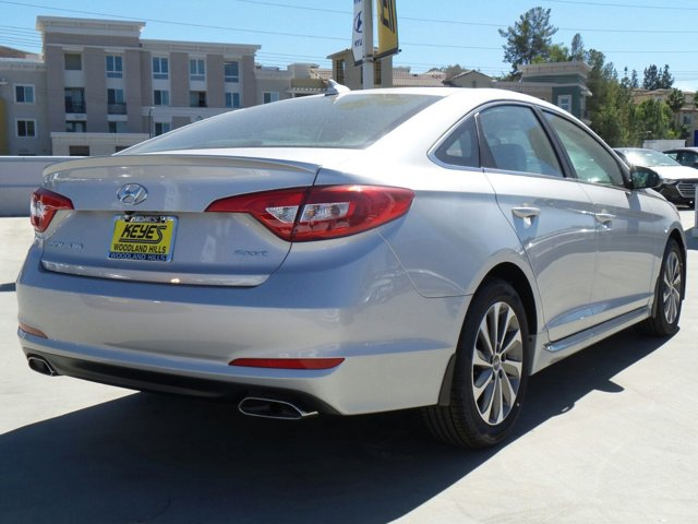 2017 Hyundai Sonata Sport Silver V4 24 L Automatic 12 miles Woodland Hills Hyundai come and