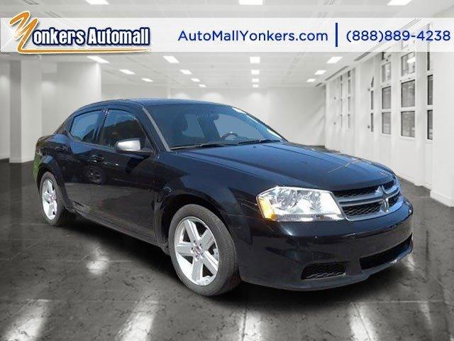 2013 Dodge Avenger SE BlackBlack Interior V4 24L Automatic 49046 miles  Front Wheel Drive  P