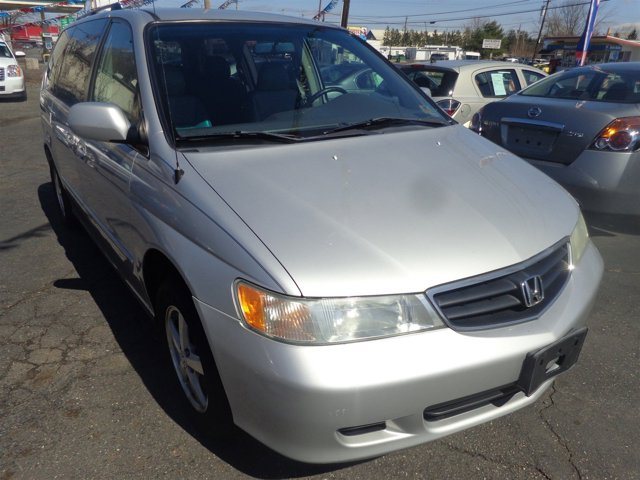 2004 Honda Odyssey EX-L Starlight Silver MetallicQuartz V6 35L Automatic 110466 miles  Tractio
