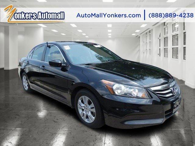 2012 Honda Accord Sdn SE Crystal Black PearlBlack V4 24L Automatic 41554 miles Yonkers Auto M