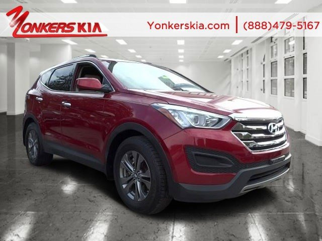 2013 Hyundai Santa Fe Sport Serrano RedBeige V4 24L Automatic 16000 miles Yonkers Kia is the